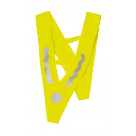 Kamizelka odblaskowa dla dzieci, VICTORY, żółty/srebrny