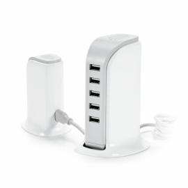 Stacja ładująca USB Biały