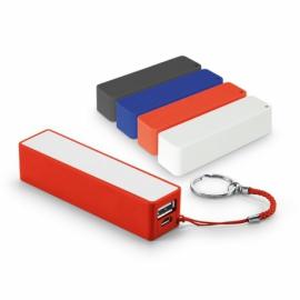 Przenośna bateria Czerwony