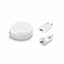 Zestaw adapterów USB Biały