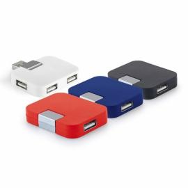 Rozgałęziacz USB 2'0 Czerwony