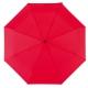 Parasol automatyczny, wiatroodporny, BORA, czerwony