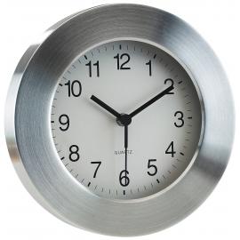Aluminiowy zegar, VENUS, srebrny