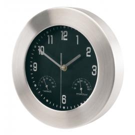 Aluminiowy zegar, JUPITER, srebrny