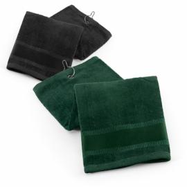 Ręcznik golfowy Czarny