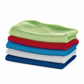 Ręcznik sportowy Limonkowy zielony