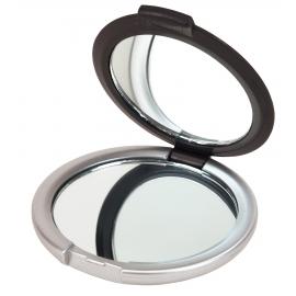 Lusterko do makijażu, MAGNIFY, czarny/srebrny