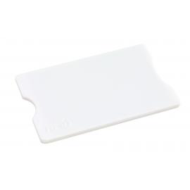 Etui na kartę kredytową, PROTECTOR, biały