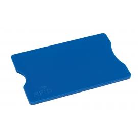 Etui na kartę kredytową, PROTECTOR, niebieski