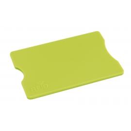 Etui na kartę kredytową, PROTECTOR, zielone jabłko