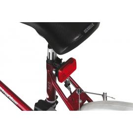 Lampka rowerowa, GUARD, czerwony