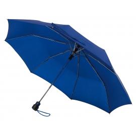 Automatyczny parasol kieszonkowy, PRIMA, niebieski