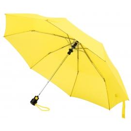 Automatyczny parasol kieszonkowy, PRIMA, żółty