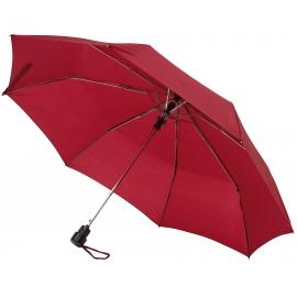 Automatyczny parasol kieszonkowy, PRIMA, bordowy