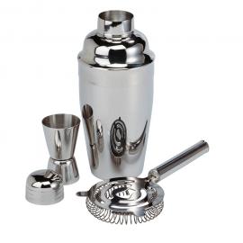 3-częściowy, metalowy zestaw do drinków MESSINA