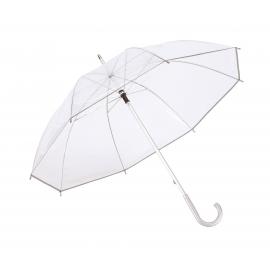 Parasol, PANORAMIX, transparentny/srebrny