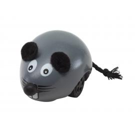 Drewniana mysz, NINI, szary