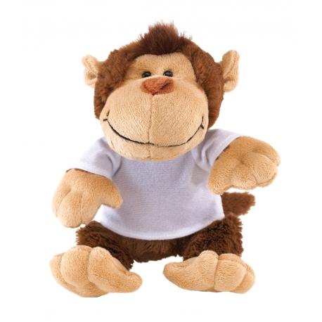 Małpka pluszowa, INGO, brązowy/beżowy