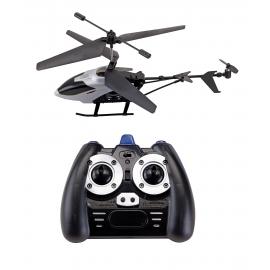 Helikopter, FLY AWAY, czarny/srebrny