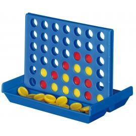 Gra podróżna, 4 IN A LINE, niebieski/czerwony/żółty