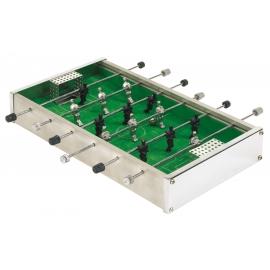 Mini zestaw do gry w piłkarzyki, CHAMPION, srebrny