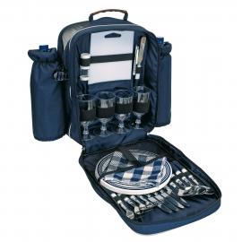 Plecak piknikowy, HYDE PARK, niebieski