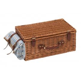 Kosz piknikowy, MADISON PARK, brązowy/niebieski