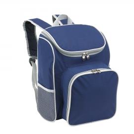 Plecak piknikowy, OUTSIDE, niebieski/szary