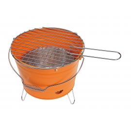 Grill, BUCKET, pomarańczowy