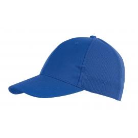 6 segmentowa czapka, PITCHER, niebieski