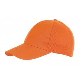 6 segmentowa czapka, PITCHER, pomarańczowy