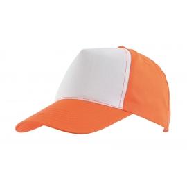 5 segmentowa czapka, SHINY, pomarańczowy