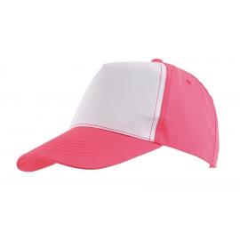5 segmentowa czapka, SHINY, różowy