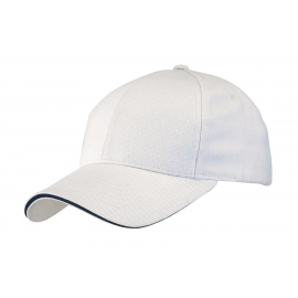 Czapka baseballowa, LIBERTY, biały