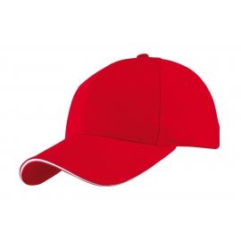 Czapka baseballowa, LIBERTY, czerwony