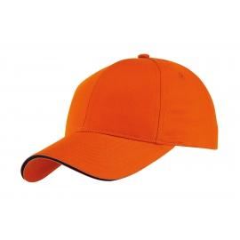 Czapka baseballowa, LIBERTY, pomarańczowy