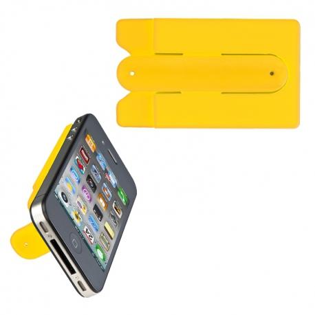Pokrowiec na kartę do smartfona z podstawką MONTE CARLO