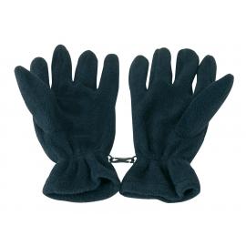 Rękawiczki z włókna polarowego, ANTARTIC, ciemnoniebieski