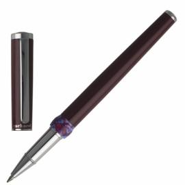 Pióro kulkowe/długopis żelowy BLOSSOM BORDEAUX