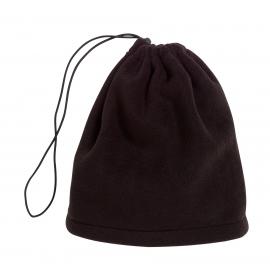Polarowy szalik/czapka, VARIOUS, czarny