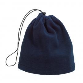Polarowy szalik/czapka, VARIOUS, ciemnoniebieski