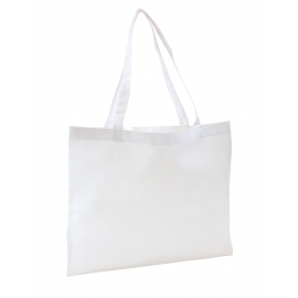 Torba na zakupy, MARKET, biały