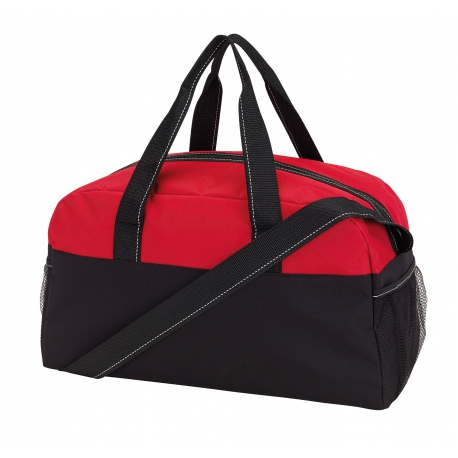 Sportowa torba, FITNESS, czarny/czerwony