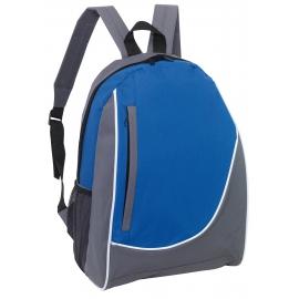 Plecak, POP, szary/niebieski