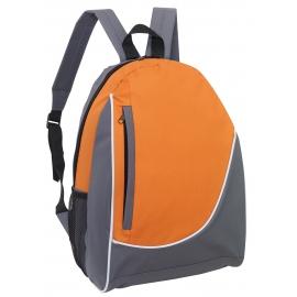 Plecak, POP, szary/pomarańczowy