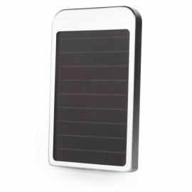 Metalowy Power Bank Solarny 5000mAh