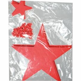 Zestaw filcowych gwiazdek KARLSTAD