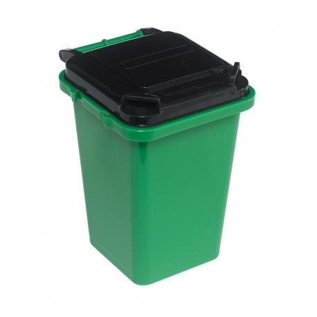 Pojemnik na przybory biurowe, DUSTY, zielony