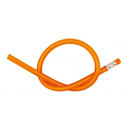 Ołówek elastyczny, AGILE, pomarańczowy