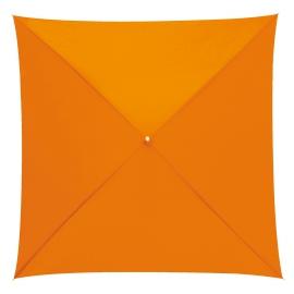 Parasol o kwadratowej czaszy, QUATRO, pomarańczowy